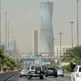 Saudi-Arabiens hovedstad Riyadh.