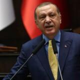 Arkivfoto. Samtidig trækker Tyrkiets præsident, Recep Tayyip Erdogan, i trådene for at få udbedret forholdet mellem Qatar på den ene side og særligt Saudi-Arabien / AFP PHOTO / ADEM ALTAN