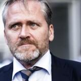 ARKIV. Udenrigsminister Anders Samuelsen under et doorstep for pressen i Udenrigsministeriet onsdag den 23. august 2017.