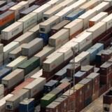 Den danske eksport steg en smule i september, men det opvejer ikke nedturen i august. Free/Colourbox