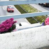 ARKIVFOTO: Motorvejsbroen mellem Blommenslyst og Vissenbjerg på Fyn, hvor en person omkom, en person blev alvorligt tilskadekommen og et barn slap med skrammer, efter der blev kastet en betonklods ned på deres bil.