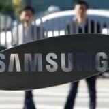 Samsungs hovedkontor uden for Seoul blev tirsdag morgen ransaget af den sydkoreanske anklagemyndighed, som efterforsker en sag om påvirkning af landets præsident. Arkivfoto. Kim Hong-Ji, Reuters/Scanpix