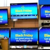 Reklamer for Black Friday i USA. Foto: Rick Wilking
