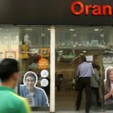 Frankrigs store mobilselskab, Orange, ser store problemer i EUs nej til fusioner og opkøb i en branche, som er hårdt presset i mange lande. Arkivfoto: Amr Abdallah Dalsh, Reuters/Scanpix