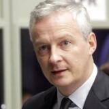 Den franske finansminister, Bruno La Maire.