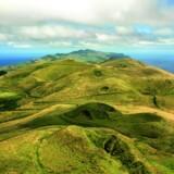 Fra øens højeste punkt, Pico da Esperanca, har man en flot udsigt ud over adskillige grønklædte udslukte vulkaner. Fotos: Jesper Møller og Turismo dos Açores
