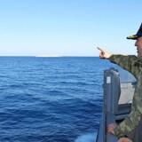 Skibe fra den tyrkiske flåde sejlede mandag ind i græsk farvand.