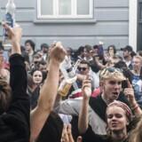 Distortion på Vesterbro, torsdag den 1. juni 2017. Distortion 2017 bliver afholdt fra onsdag den 31. maj til søndag den 4. juni.. (Foto: Ida Marie Odgaard/Scanpix 2017)