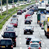 (ARKIV) Holbækmotorvejen den 4. juli 2011. Trafikken på motorvejene vokser markant. På bare 10 år er der kommet næsten en tredjedel flere personbiler og lastbiler på de største hjemlige motorveje. På de mest belastede strækninger er trafikken vokset 40-45 procent, viser nye tal. Det skriver Ritzau, tirsdag den 3. juli 2018.. (Foto: Bax Lindhardt/Ritzau Scanpix)