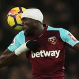 Cheikhou Kouyate fremhæves som en god spiller af West Hams rekrutteringsleder Tony Henry. Henry er nu suspenderet, mens klubben undersøger, om han diskriminerer afrikanske spillere. Scanpix/Peter Cziborra
