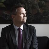 Direktør Ulrik Nødgaard, Finansrådet, er ærgerlig over, at kunderne ikke tilfredse med brankbranchen: »Foran os ligger hårdt arbejde med at synliggøre den værdi, sektoren reelt leverer,« konstaterer direktøren for bankernes lobbyorganisation. Arkivfoto: Asger Ladefoged