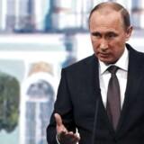 Den russiske præsident, Vladimir Putin, må se på, at EU forlænger sanktionerne mod hans land.