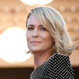 House of Cards-stjernen Robin Wright er i Cannes for at promovere en ny sæson af den populære Netflix-serie, og var blandt andet trækplaster ved et særligt Netflix-arrangement. AFP PHOTO / Anne-Christine POUJOULAT