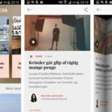Med den nye app fra Berlingske Business får man en suveræn og intuitiv læseoplevelse. Appen er udviklet til både Android- og Apple-telefoner og tablets.