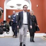 Simon Emil Ammitzbøll-Bille vakte fredag stor opsigt på Christiansborg.