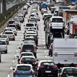 Trafik på motorvej uden for København. Foto: Dennis Lehmann