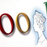 Internetgiganten Google indvilligede i februar i at betale 130 millioner pund i ekstraskat til den britiske statskasse. Nu ændrer Facebook regnskabspraksis og vil fremover bogføre britisk salg i sine britiske regnskaber. Arkivfoto: Adrian Dennis, AFP/Scanpix