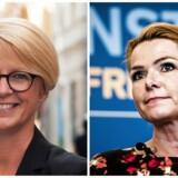 Onsdag har Moderaternas næstformand, Elisabeth Svantesson, mødtes med integrationsminister Inger Støjberg.