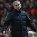 José blev endnu en gang bortvist, da Manchester United spillede 1-1 hjemme mod West Ham søndag. Reuters/Carl Recine
