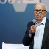 Mediemogulen Rupert Murdochs News Corp afviser at være ved at opkøbe Twitter. Arkivfoto: Mike Blake, Reuters/Scanpix