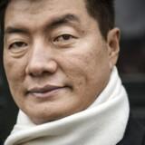 Tibets eksilpræsident Lobsang Sangay. Lobsang Sangay afløste i 2011 Dalai Lama som tibetanernes politiske leder.