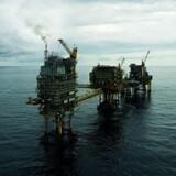 Mærsks olieplatform »Gorm Ekko« i Nordsøen