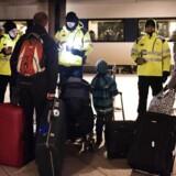 Arkivfoto. Øget kontrol med biler, færger og tog, der kommer til Sverige fra Danmark, betyder, at flere personer afvises.