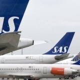 ARKIVFOTO: SAS og flere andre flyselskaber aflyser tirsdagens New York-flyvninger. Det skriver branchesitet Check-In.
