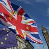 Valget i Storbritannien er overstået, og de nye ministre i London har én altoverskyggende opgave: At forhandle en brexitaftale på plads med EU. (Foto: DANIEL LEAL-OLIVAS/Scanpix 2017