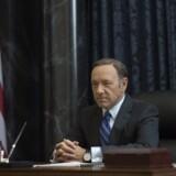 """Kevin Spacey taler direkte til publikum i """"House of Cards"""". Foto: Nathaniel Bell for Netflix."""