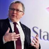 Arkivfoto. Oliemarkedet vil blive rebalanceret hurtigere end ventet, mener den norske oliegigant Statoils administrerende direktør, Eldar Sætre.