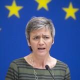 Ifølge Margrethe Vestager har sagen om skattely i Panama gjort EU-kommissionen »pissesur«.