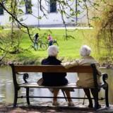 Ny undersøgelse ser nærmere på hvilke af de 20 største danske byer, der giver de bedste forudsætninger for en god seniortilværelse. Arkivfoto: Torben Christensen/Scanpix 2017