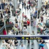 Antallet af rejsende i Københavns Lufthavn voksede 0,5 procent i 2017 til godt 29 millioner. Flere fløj langt. (Foto: Claus Bech/Scanpix 2012)