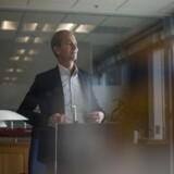 Portræt af Mads Peter Zacho, adm. direktør for J. Lauritzen