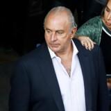 Sir Philip Green er kommet i svær politisk modvind efter at have solgt forretningskæden Britisk Home Stores, som han købte i 2000 og derefter hentede milliarder ud af. Ingen kan påpege, at det han har gjort er ulovligt, men 11.000 medarbejderes job er bragt i fare, og deres pensionsfond er blevet lænset. Arkivfoto: Luke MacGregor / Reuters