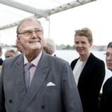 ARKIVFOTO. Prins Henrik var præsident for den danske afdeling af WWF, og det bragte ham på en del rejser i embeds medfør.