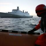 Det danske skib Absalon har stor erfaring i at jagte pirater.
