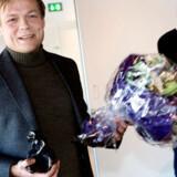 """Rune Lykkeberg med """"Dyret""""."""