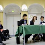 Det unge hold af jurastuderende fra Singapore løb af med sejren ved gårsdagens fiktive klimatopmøde i København.