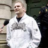 Hells Angels-rockeren Jørn 'Jønke' Nielsen står tiltalt for vold i Københavns Byret.
