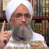 Terrorforskeren William McCants spår, at al-Qaedas to topfolk, Osama bin Laden og Ayman al-Zawahiri (foto) vil blive taget til fange eller slået ihjel inden for de næste to til tre år.