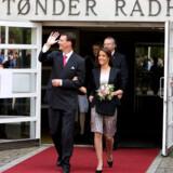 Marie Cavallier og prins Joachim er klar til bryllup i morgen.