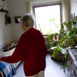 Pladserne til de ældre i Lyngby-Taarbæk Kommune er så få, at det kan blive nødvendigt at indkvartere to personer i plejeboliger som denne på blot 10 kvadratmeter.