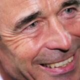 Statsminister Anders Fogh Rasmussen skifter job i. august 2009.