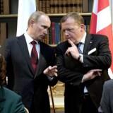 Den russiske premierminister, Vladimir Putin, var i april 2011 på besøg i Danmark. I den anledning blev der indgået flere aftaler imellem de to regeringer og repræsentanter for de to landes erhvervsliv, der under en seance underskrev aftaler inden for transport, energi, landbrug og det arktiske område. Foto: Keld ?Navntoft