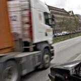 Lastbil på Nørre Voldgade i København. Arkivfoto: Scanpix