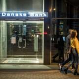 (ARKIV) Danske Banks filial i Tallin fotograferet den 14. august 2018. På et enkelt år skal cirka 192 milliarder kroner have passeret gennem Danske Banks estiske filial. Det skriver det britiske finansmedie Financial Times, der skal have set et udkast til en rapport om hvidvaskningssagen i bankens estiske filial. Ifølge Financial Times blev 30 milliarder dollar placeret i Danske Banks estiske filial i 2013 af udlændinge. En kilde tæt på undersøgelsen siger, at det er en utrolig sum for sådan en lille afdeling. Det skriver Ritzau, mandag den 3. september 2018.. (Foto: Asger Ladefoged/Ritzau Scanpix)