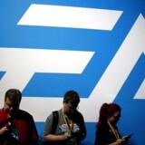 Lanceringen af den nyeste udgave af en af EA's absolutte hovedtitler, Battlefield V, er blevet udskudt med fire uger, selskabet er kommet med en nedjustering - og det har fået investorerne til at reagere. REUTERS/Lucy Nicholson/File Photo/Ritzau Scanpix