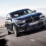 Meget stærkere - hidtil har BMW X2 maksimalt kunne fås med 231 hk. Den nye X2 M35i har 306 hk